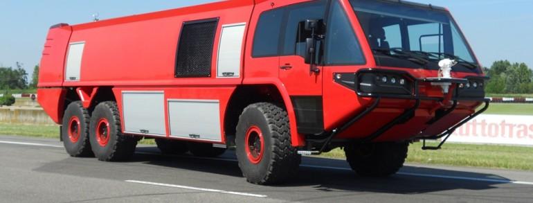 B – Aeroportuale / Crash Tender vehicle