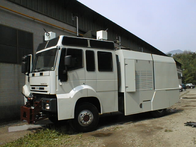 Riot Control Vehicle with water cannons