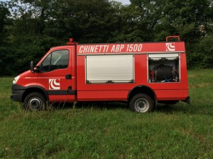 CHINETTI ABP 1500 Water Pumper Fire Truck