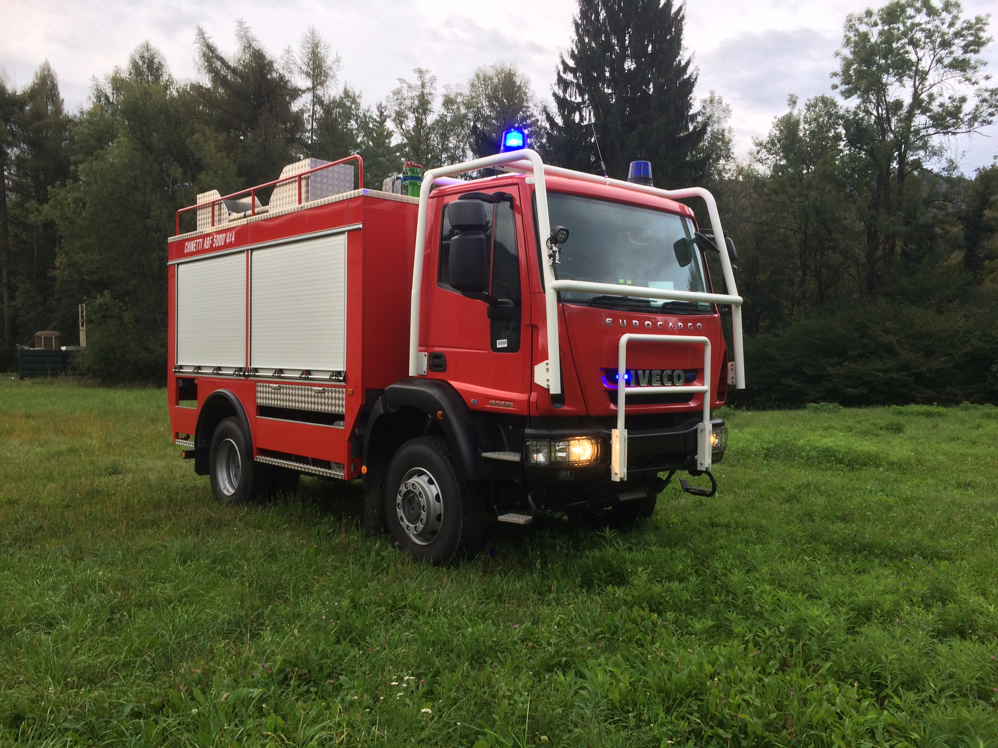Carrozzeria Chinetti Srl Italy Fire Truck Schematic Category Civil Protection Forestry Model Abf 5000 4x4 Chassis Iveco Eurocargo Ml150e25w
