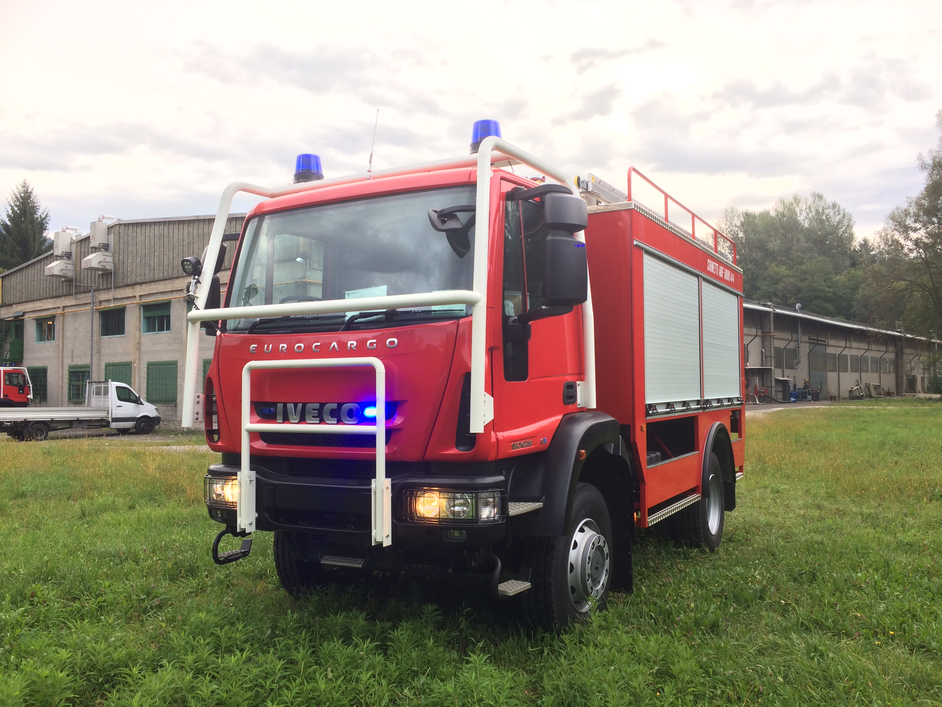 Category: Civil Protection / Forestry fire truck Model: ABF 5000 4x4  Chassis: IVECO EUROCARGO ML150E25W.