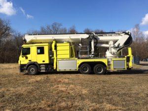 37m Working Height Fire Fighting Aerial Platform