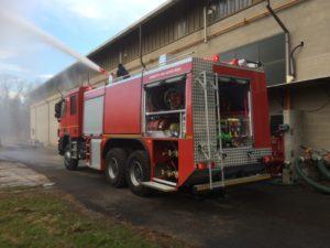 CHINETTI AIS 6000/600 6X6 FIRE TRUCK