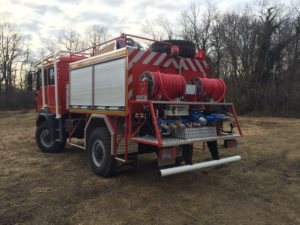 FORESTRY FIRE TRUCK CHINETTI ABF 4000 4x4