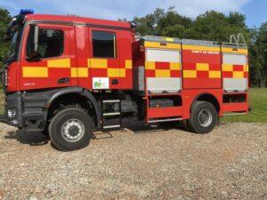 CHINETTI AIS 4500/500 4x4 FIRE TRUCK